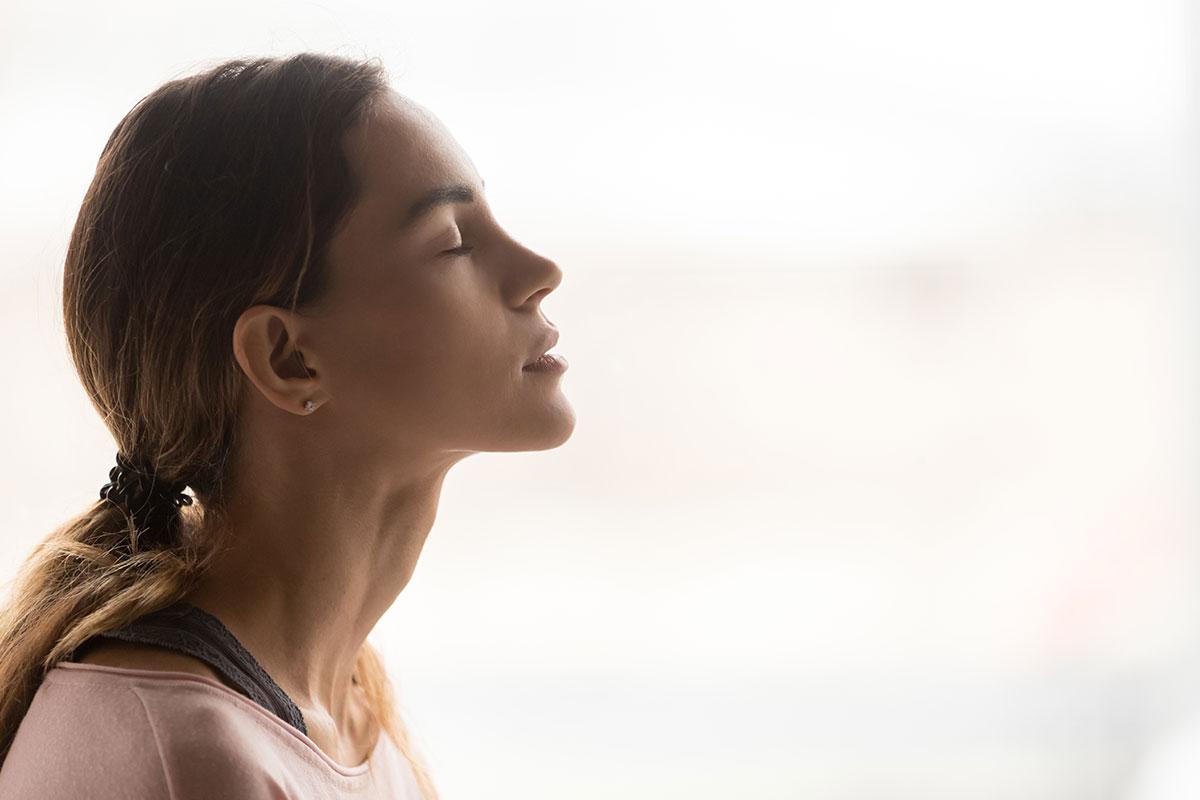 Körperentspannungs-Übung für den Alltag